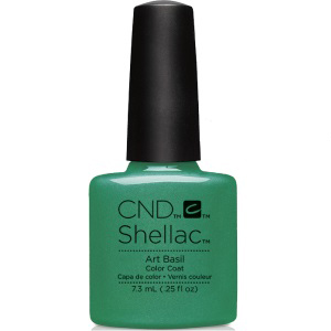 CND Shellac Art Basil