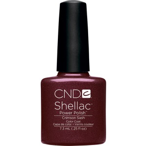 СND Shellac Crimson Sash