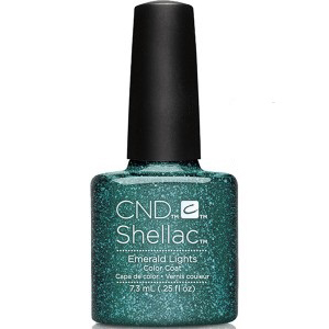 CND Shellac Emeraid Lights